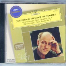 CDs de Música: SVIATOSLAV RICHTER. - PROKOFIEV DEUTSCHE GRAMOPHON ALEMANIA . Lote 58438984