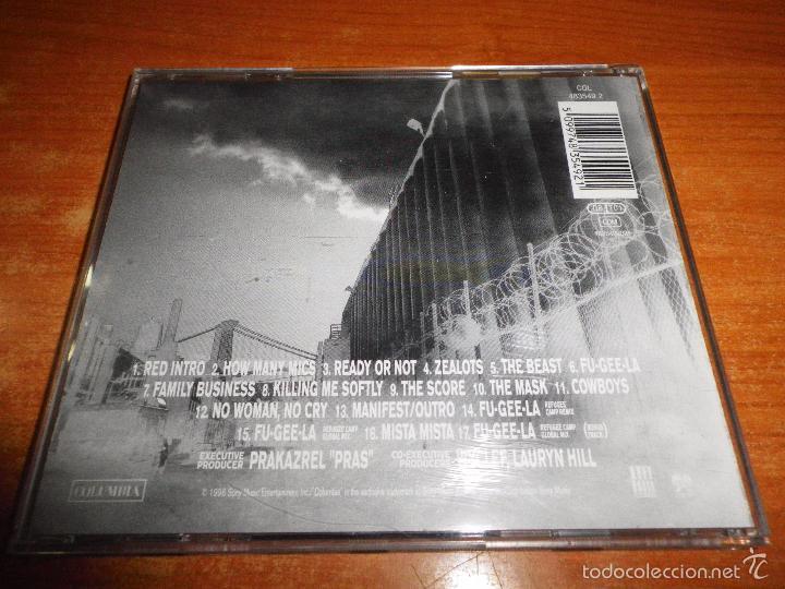 CDs de Música: FUGEES The score CD ALBUM DEL AÑO 1996 HECHO EN AUSTRIA CONTIENE 17 TEMAS LAURYN HILL WYCLEF - Foto 2 - 51507598