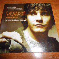 CDs de Música: SALVADOR PUIG ANTICH BANDA SONORA LLUIS LLACH DVD PROMO EN FORMATO CD SINGLE CARTON. Lote 103876286