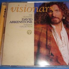CDs de Música: DAVID ARKENSTONE / VISIONARY / THE ULTIMATE / GREATEST HITS / THE BEST OF / NARADA / 2 CD. Lote 58450186