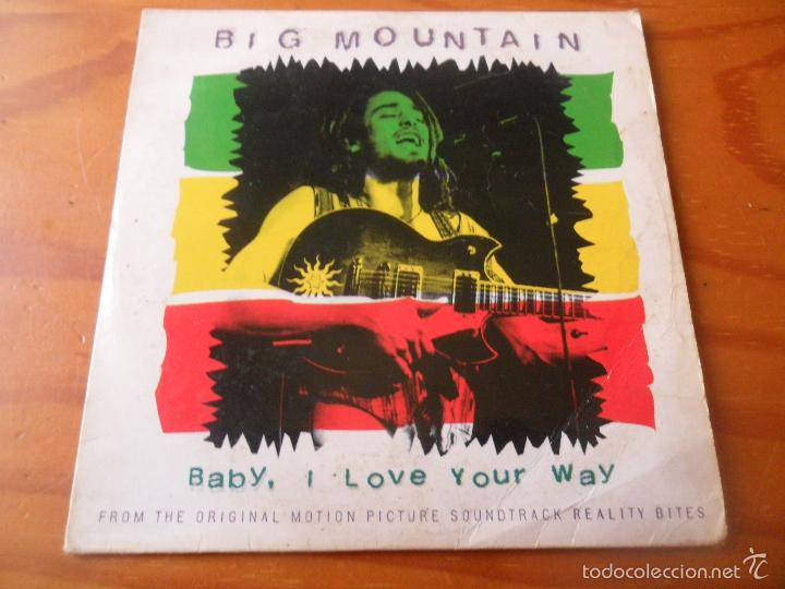 BIG MOUNTAIN - BABY, I LOVE YOUR WAY+ 2 - CD SINGLE - (Música - CD's Reggae)
