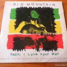 CDs de Música: BIG MOUNTAIN - BABY, I LOVE YOUR WAY+ 2 - CD SINGLE -. Lote 58462128
