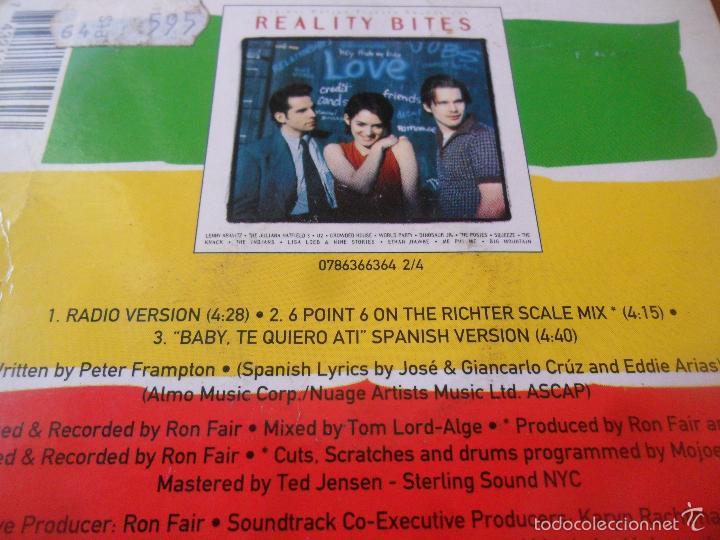 CDs de Música: BIG MOUNTAIN - BABY, I LOVE YOUR WAY+ 2 - CD SINGLE - - Foto 2 - 58462128