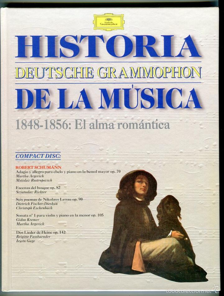 HISTORIA DE LA MUSICA CD -DEUTSCHE GRAMMOPHON- Y LIBRO VER CONTENIDO DEL CD EN IMAGENES ADICIONALES (Música - CD's Clásica, Ópera, Zarzuela y Marchas)