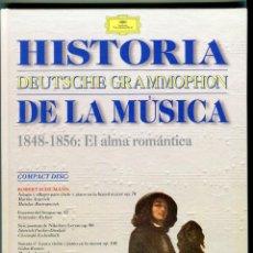 CDs de Música: HISTORIA DE LA MUSICA CD -DEUTSCHE GRAMMOPHON- Y LIBRO VER CONTENIDO DEL CD EN IMAGENES ADICIONALES. Lote 58472008