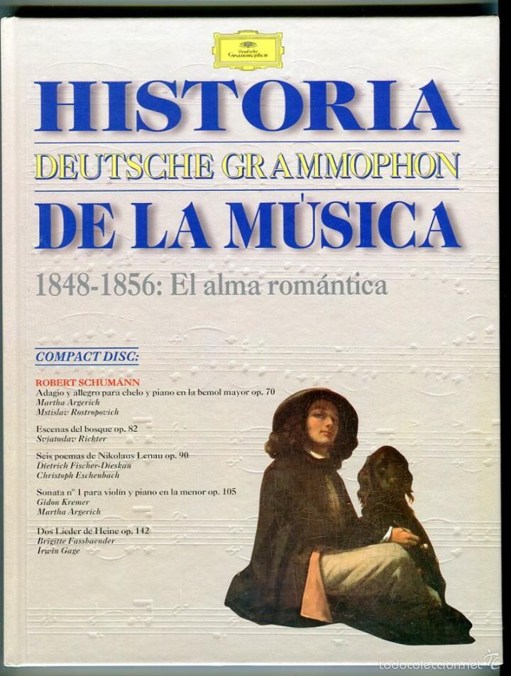CDs de Música: HISTORIA DE LA MUSICA CD -DEUTSCHE GRAMMOPHON- Y LIBRO VER CONTENIDO DEL CD EN IMAGENES ADICIONALES - Foto 2 - 58472008