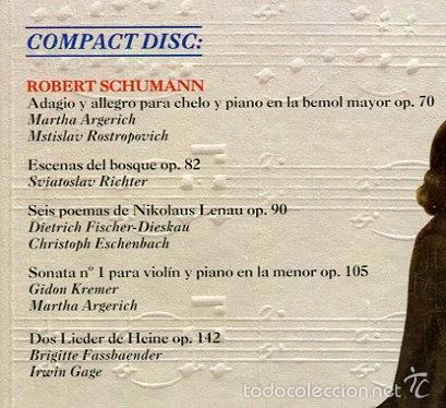CDs de Música: HISTORIA DE LA MUSICA CD -DEUTSCHE GRAMMOPHON- Y LIBRO VER CONTENIDO DEL CD EN IMAGENES ADICIONALES - Foto 3 - 58472008