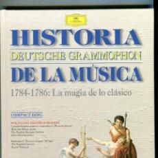 CDs de Música: HISTORIA DE LA MUSICA CD -DEUTSCHE GRAMMOPHON- Y LIBRO VER CONTENIDO DEL CD EN IMAGENES ADICIONALES. Lote 58472049