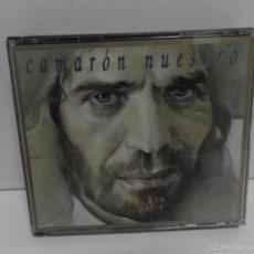 CDs de Música: CAMARON DE LA ISLA NUESTRO, DOBLE CD ALBUM 1994 GRABACIONES INEDITAS EN DIRECTO GUITARRA TOMATITO. Lote 58504709
