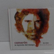 CDs de Música: CAMARON DE LA ISLA - LA LEYENDA DEL TIEMPO CD + LIBRO 2008 EDITADO POR EL PAIS. Lote 58504728