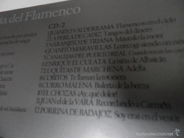 CDs de Música: ANTOLOGIA DEL FLAMENCO, LA COLECCION DEFINITIVA EN 3 CD,S, BELLBOX 2 - Foto 4 - 58504839