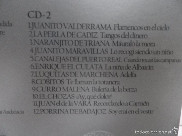 CDs de Música: ANTOLOGIA DEL FLAMENCO, LA COLECCION DEFINITIVA EN 3 CD,S, BELLBOX 2 - Foto 7 - 58504839