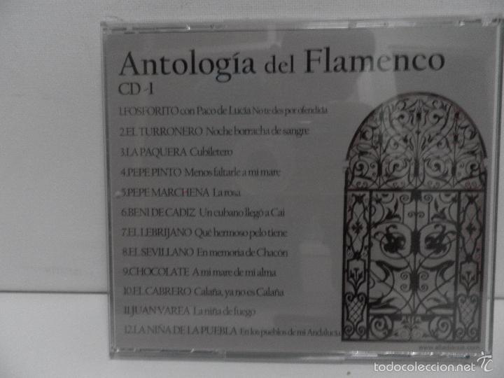 CDs de Música: ANTOLOGIA DEL FLAMENCO, LA COLECCION DEFINITIVA EN 3 CD,S, BELLBOX 2 - Foto 11 - 58504839