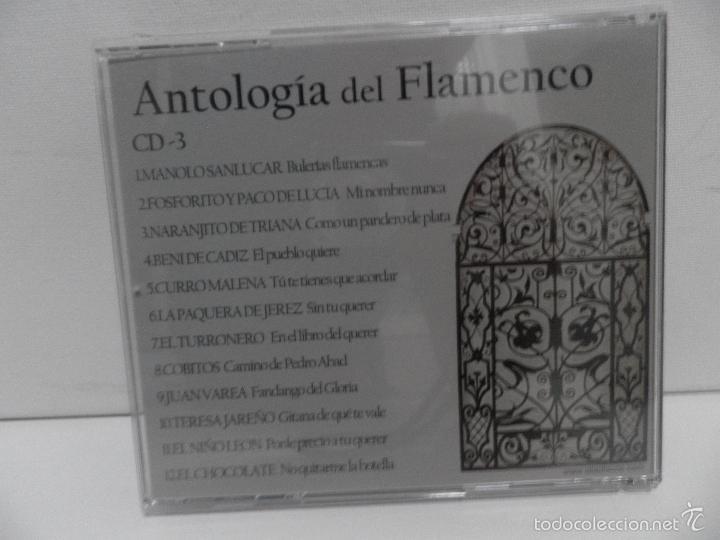 CDs de Música: ANTOLOGIA DEL FLAMENCO, LA COLECCION DEFINITIVA EN 3 CD,S, BELLBOX 2 - Foto 15 - 58504839