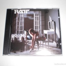 CDs de Música: RATT: INVASION OF YOUR PRIVACY. CD. Lote 105970564