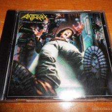 CDs de Música: ANTHRAX SPREADING THE DISEASE CD ALBUM DEL AÑO 1985 ISLAND MASTER MADE IN GERMANY CONTIENE 9 TEMAS. Lote 58539828