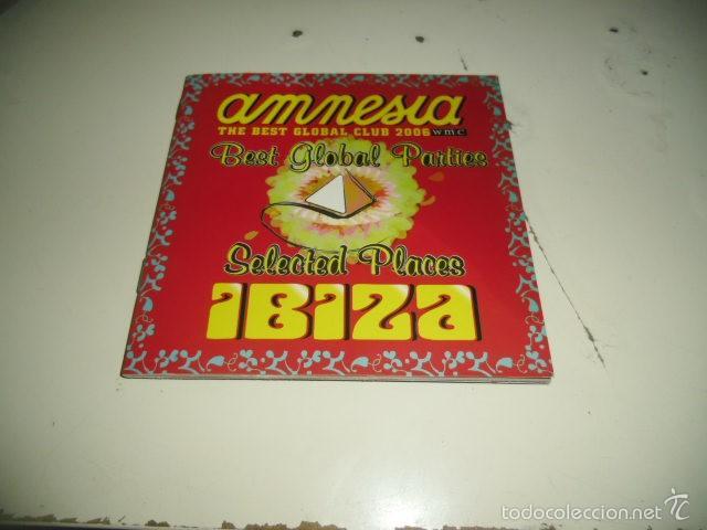 CD AMNESIA THE BEST GLOBAL CLUB 2006 IBIZA (Música - CD's Otros Estilos)