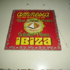 CDs de Música: CD AMNESIA THE BEST GLOBAL CLUB 2006 IBIZA . Lote 58554003