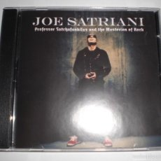 CDs de Música: JOE SATRIANI: PROFESSOR SATCHAFUNKILUS AND THE MUSTERION OF ROCK. CD. Lote 58557985