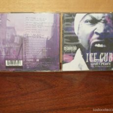 CDs de Música: ICE CUBE - WAR PEACE VOLUMEN 2 - CD . Lote 58598712