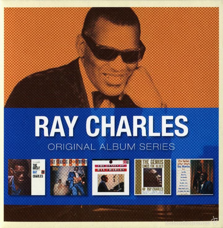RAY CHARLES * BOX 5 CD * ORIGINAL ALBUM SERIES OF RAY CHARLES * CAJA PRECINTADA!!! (Música - CD's Jazz, Blues, Soul y Gospel)