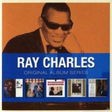 CDs de Música: RAY CHARLES * BOX 5 CD * ORIGINAL ALBUM SERIES OF RAY CHARLES * CAJA PRECINTADA!!!. Lote 97094371