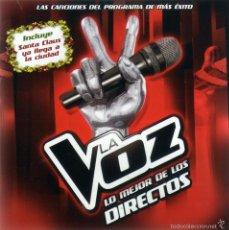 CDs de Música: LA VOZ - LO MEJOR DE LOS DIRECTOS - CD. Lote 58647021