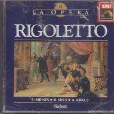 CDs de Música: RIGOLETTO - GUISEPPE VERDI - LA OPERA 14. Lote 58651260