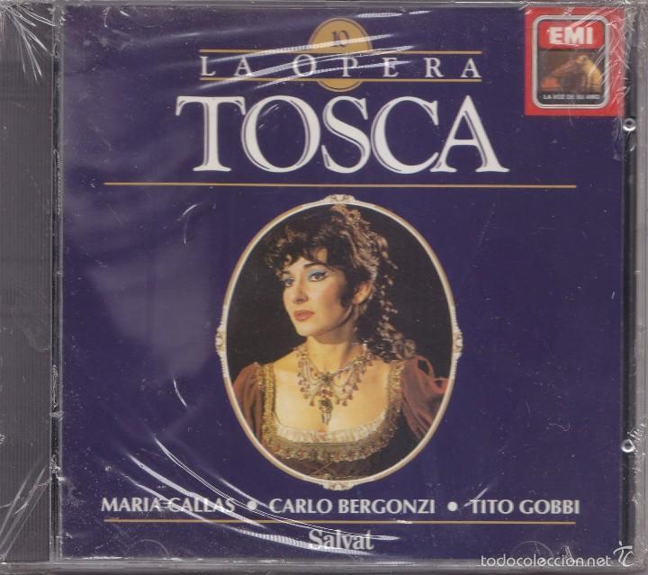 TOSCA - PUCCINI - LA OPERA 10 (Música - CD's Clásica, Ópera, Zarzuela y Marchas)