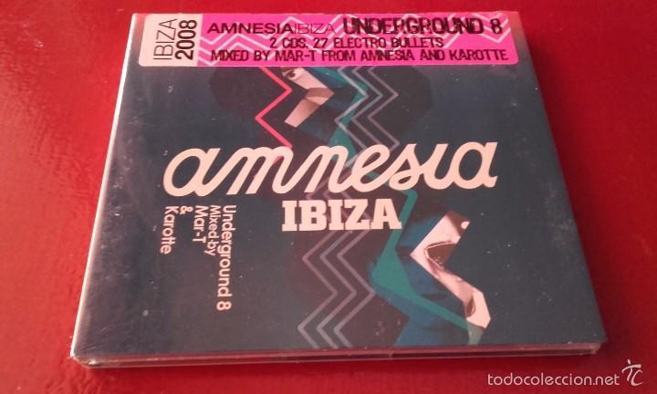 2 CD NUEVO PRECINTADO DISCOTECA DISCO AMNESIA IBIZA UNDERGROUND 8 (Música - CD's Otros Estilos)