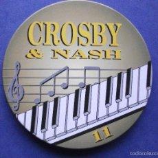CDs de Música: CROSBY & NASH CROSBY & NASH CD ALBUM 1995 PORTUGAL PDELUXE. Lote 58676123