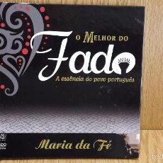 CDs de Música: LIBRO / CD. O MELHOR DO FADO. MARIA DA FÉ. 34 PAG / CD DE LUJO.. Lote 58752108