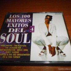 CDs de Música: LOS 100 MAYORES EXITOS DEL SOUL CUADRUPLE CD 4 CD 1998 ESPAÑA THE JACKSON FIVE JAMES BROWN BOX SET. Lote 58822151
