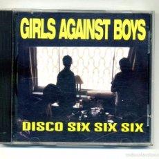 CDs de Música: GIRLS AGAINST BOYS-DISCO SIX SIX SIX (CD EP. TOUCH AND GO. 1996). Lote 58670330