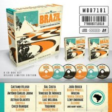 CDs de Música: BRAZIL THE COMPLETE BOSSA NOVA BOX SET * 6 CD * EDICIÓN LIMITADA DIGIPACK * CAJA PRECINTADA. Lote 235794715