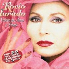 CDs de Música: CD ROCÍO JURADO ¨VOLCÁN DE AMOR Y FUEGO¨ (3 CDS). Lote 58869756