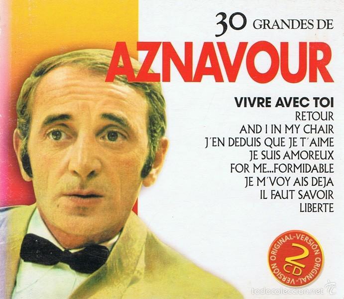 CD 30 GRANDES DE AZNAVOUR (Música - CD's World Music)