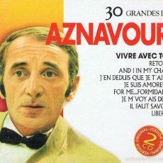 CDs de Música: CD 30 GRANDES DE AZNAVOUR . Lote 58870581