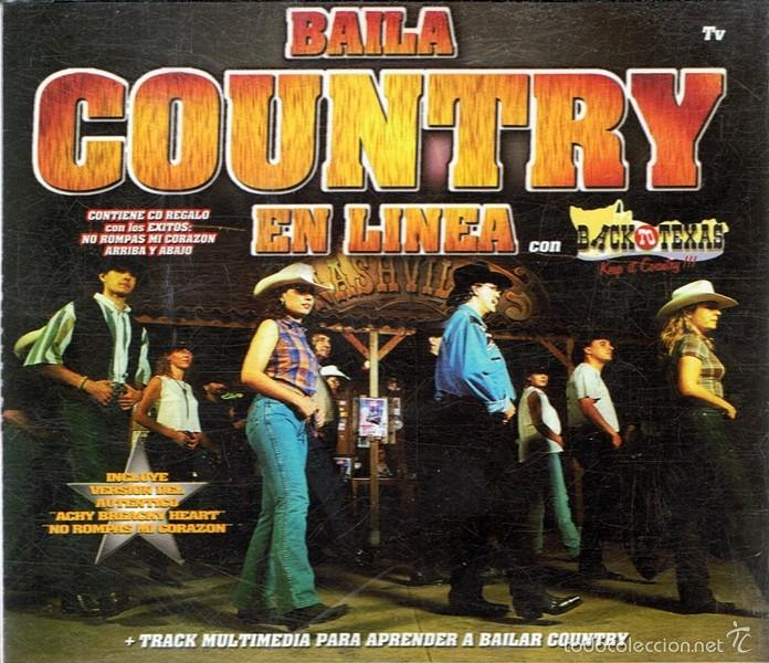 CD BAILA COUNTRY EN LÍNEA (3 CDS) (Música - CD's Country y Folk)