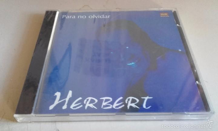 CD NUEVO PRECINTADO HERBERT PARA NO OLVIDAR (Música - CD's Otros Estilos)