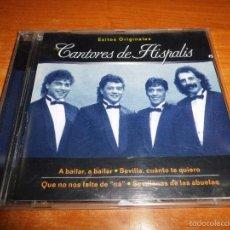 CDs de Música: CANTORES DE HISPALIS EXITOS ORIGINALES CD ALBUM DEL AÑO 1999 PASCUAL RODRIGUEZ 14 TEMAS SEVILLANAS. Lote 58880056