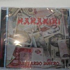 CDs de Música: MUSICA CD HEAVY HARAKIRI BASTARDO DINERO SUPER GRUPO FORMADO POR EX ROSA NEGRA SANGRE AZUL TRITON BE. Lote 58905075