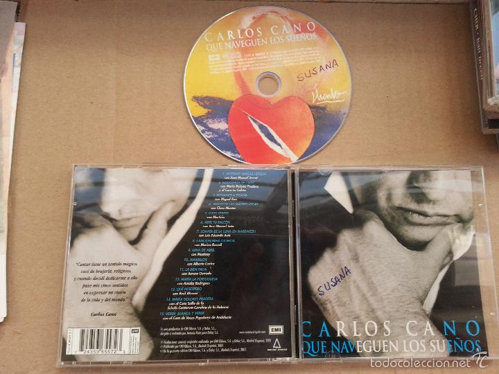 CD CARLOS CANO QUE NAVEGUEN LOS SUEÑOS (Música - CD's Melódica )
