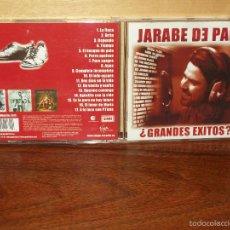 CDs de Música: JARABE DE PALO - GRANDES EXITOS - CD 17 CANCIONES. Lote 243530685