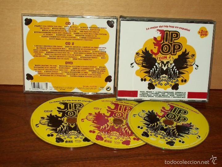 JIP JOP CON J - LO MEJOR DEL HIP HOP ESPAÑOL - DOBLE CD + DVD (Música - CD's Hip hop)
