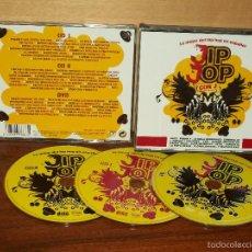 CDs de Música: JIP JOP CON J - LO MEJOR DEL HIP HOP ESPAÑOL - DOBLE CD + DVD. Lote 59000105