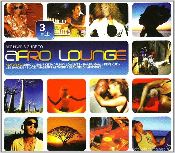 THE BEGINNER'S GUIDE TO AFRO LOUNGE * BOX SET 3 CD * CAJA PRECINTADA * RARE (Música - CD's World Music)