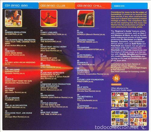 CDs de Música: The Beginners Guide To AFRO LOUNGE * BOX SET 3 CD * Caja precintada * Rare - Foto 2 - 59086825