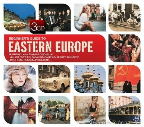 THE BEGINNER'S GUIDE TO EASTERN EUROPE * BOX SET 3 CD * CAJA PRECINTADA * RARE (Música - CD's World Music)