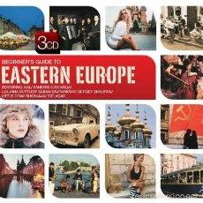 CDs de Música: THE BEGINNER'S GUIDE TO EASTERN EUROPE * BOX SET 3 CD * CAJA PRECINTADA * RARE. Lote 59141550